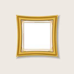 gold vintage picture frame