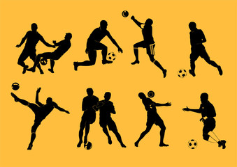 Football players.