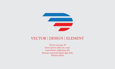 fast letter D logo