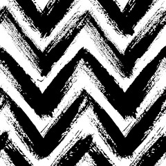 Chevron Pattern from Brush Strokes
