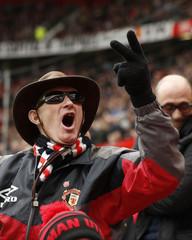 Manchester United v Aston Villa - Barclays Premier League