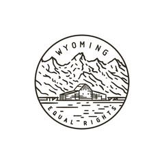 Wyoming. Rocky Mountains.