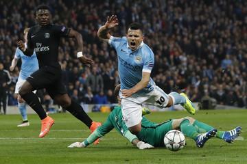Manchester City v Paris St Germain - UEFA Champions League Quarter Final Second Leg
