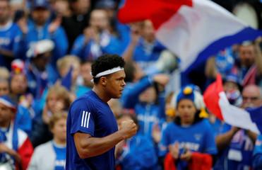 Davis Cup - Semi-Final - France vs Serbia