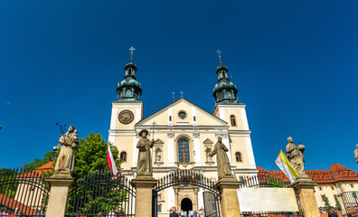 Monastery of Kalwaria Zebrzydowska, a UNESCO world heritage site in Poland