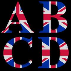 The Great British Alphabet A,B,C,D