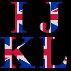The Great British Alphabet I,J,K,L