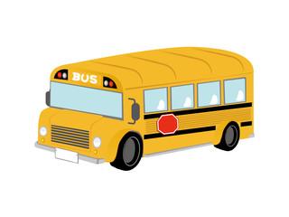 yellow bus illustration