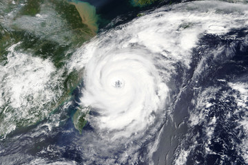 Typhoon Talim is heading towards China and Taiwan - Elements of this image furnished by NASA