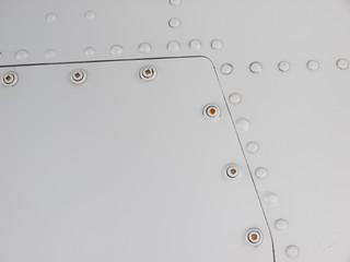Fighter jet rivets