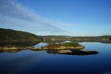 View of the Oslo Fjord