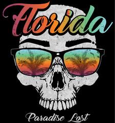 Skull Florida Graphic Design