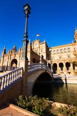 Pontile di piazza di Spagna, Siviglia