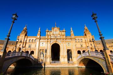 Palazzo principale Piazza di Spagna,Siviglia