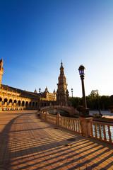 Tramonto su Piazza di Spagna,Siviglia