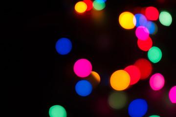 multi colored blurred lights