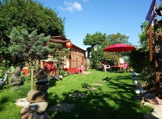 romantischer Garten / Japan style / Schrebergarten