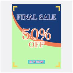 big sale background design