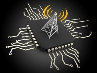 3d computer chip