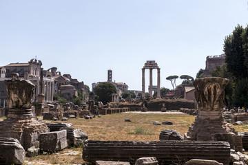 View of Roman Forum, Rome