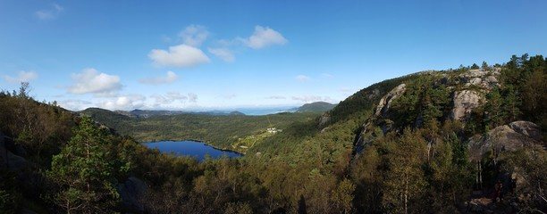 Landschaft bei Stavanger, Norwegen