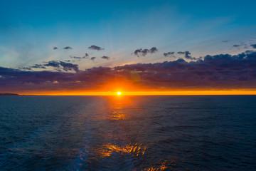 Puesta de Sol en Cabo Norte
