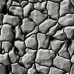 Cobble stone pavement detailed texture