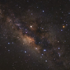The Galactic centre of the Milky Way Galaxy and Constellation Scorpius