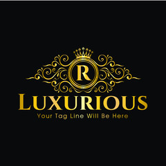 Royal Crown Logo - Luxurious logo
