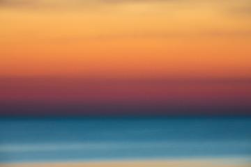 Defocused sunset background