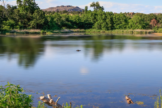 Lost Lake in the Wichita Mountains