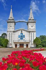 Saint Anna Nong Saeng Catholic Church, religious landmark of Nakhon Phanom built in 1926 by Catholic priests