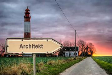 Schild 243 - Architekt