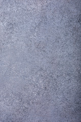 Gray concrete stone background texture. Vertical. Copy space.