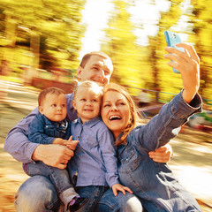 selfie Portrait Family