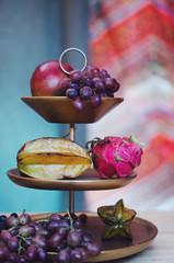 Modern Exotic Fruit Display