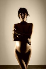 Mujer desnuda artistica
