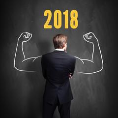 Unternehmer freut sich auf 2018