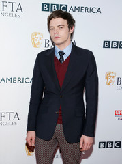 Actor Charlie Heaton poses at BAFTA Los Angeles + BBC America TV Tea Party in Beverly Hills