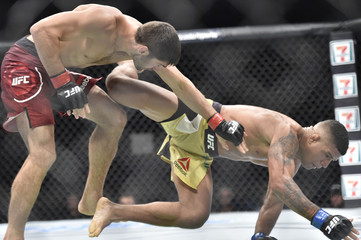 MMA: UFC Fight Night-Pittsburgh- Saggo vs Burns