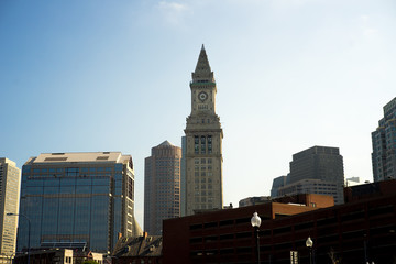 Custom house clock tower