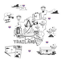 Thailand Doodles.