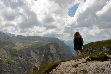 Hiking on Dolomites