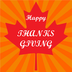 Thanksgiving Canada