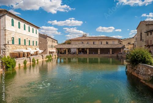 Terme di Bagno Vignoni, Toscana \