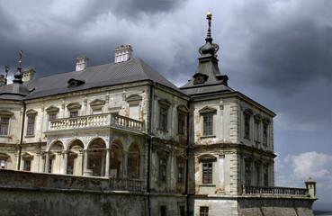 Pidgirtsi Castle in Lviv region. Ukraine