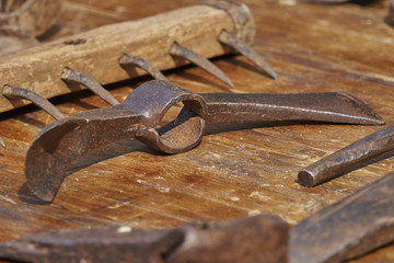 old tool in the farm