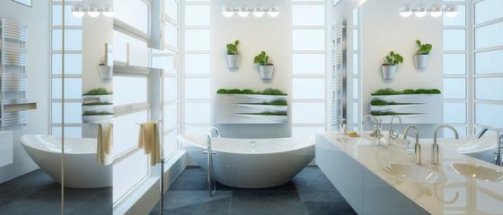 Contemporary Bathroom Adaptation (panoramic)