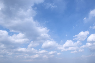 Blue Sky And Clouds For Background