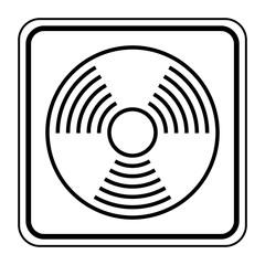 Logo détecteur de fumée.
